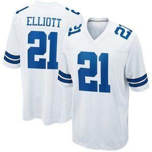 NEW NFL Men's 21# Ezekiel Elliott Nike jersey